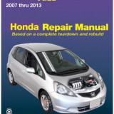 Manual de reparatie Honda Jazz 2007-2013 reparatii service, engleza tip carte, Manual reparatie auto