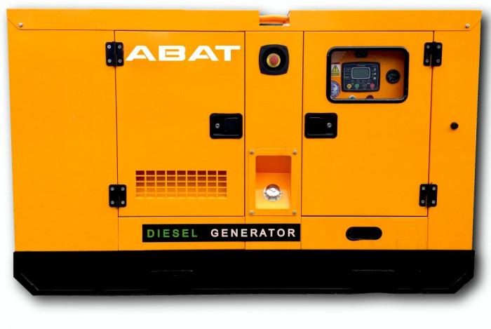 Generator de curent electric (grup electrogen) ABAT 200 DWR, motorizare DeWerk, 200 kVA, diesel, trifazat, automatizare optionala