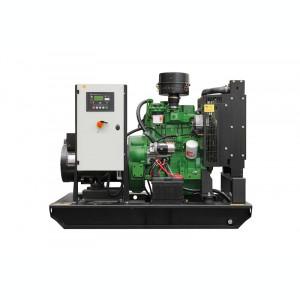 Generator curent electric (grup electrogen) ABAT 33 TJD, motorizare John Deere, 33 kVA, diesel, trifazat, automatizare optionala