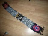 Fular al suporterilor Echipelor Fotbal Manchester United si Bayer Munchen 1999