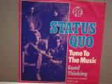 "STATUS QUO - TUNE TO THE MUSIC/GOOD...(1978/PYE/RFG) - disc VINIL Single ""7/NM, ariola"