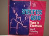 "STATUS QUO - TUNE TO THE MUSIC/GOOD...(1978/PYE/RFG) - disc VINIL Single ""7/NM"