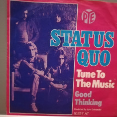 "STATUS QUO - TUNE TO THE MUSIC/GOOD...(1978/PYE/RFG) - disc VINIL Single ""7/NM"
