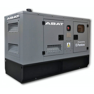 Generator curent electric (grup electrogen) ABAT 88 TP, motorizare Perkins 88 kVA, diesel, trifazat, automatizare optionala