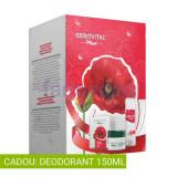 Casetă cadou: Cremă hidratantă, Deodorant, GEROVITAL Plant