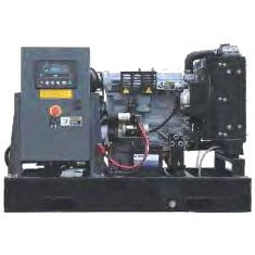 Generator curent electric (grup electrogen) ABAT 12 DWEI, motorizare DeWerk, 12 kVA, diesel, trifazat, automatizare