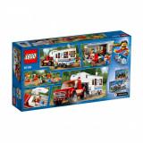 LEGO® City Camioneta si rulota 60182