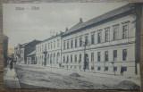 Zalau, Scoala Civila pentru Fete// CP, Circulata, Fotografie