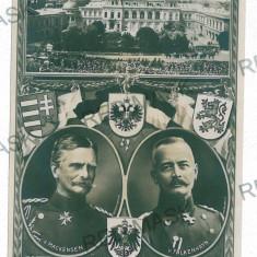 643 - BUCURESTI, G-ral Mackensen - old postcard, real PHOTO - unused, Necirculata, Fotografie