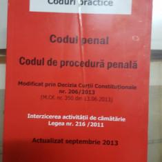 Codul de procedură penală, Actualizat în septembrie  2013, Editor V. Moroșanu
