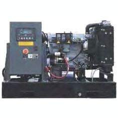 Generator curent electric (grup electrogen) ABAT 20 DWIM, motorizare DeWerk, 16,5 kVA, diesel, monofazat, automatizare