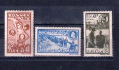ROMANIA 1942 - UN AN BASARABIA - MNH - LP 148 II foto