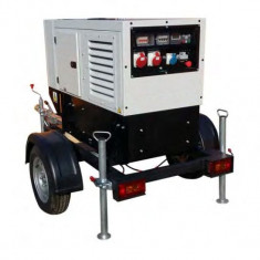 Generator curent electric ( grup electrogen ) ABAT 11000 SKD, motorizare Kohler, 11 kVA, diesel, monofazat, carcasa inclusa, automatizare optionala