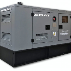 Generator curent electric (grup electrogen) ABAT 110 TP, motorizare Perkins, 110 kVA, diesel, trifazat, automatizare optionala