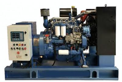 Generator curent electric (grup electrogen) ABAT 220 TBI, motorizare Baudouin, 220 kVA, diesel, trifazat, automatizare foto
