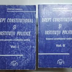 Cristian Ionescu, Drept constituțional și instituții politice, Vol. 1-2 , 1997