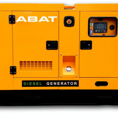 Generator de curent electric (grup electrogen) ABAT 125 DWR, motorizare DeWerk, 125 kVA, diesel, trifazat, automatizare optionala