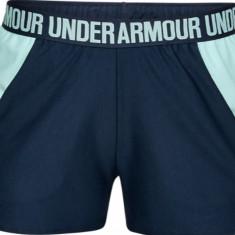 Pantaloni scurti Under Armour New Play Up 3'' Short 1292231-408 pentru Femei, Albastru, L, S, XS