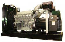 Generator curent electric (grup electrogen) ABAT 1915 TMI, motorizare Mitsubishi, 1915 kVA, diesel, trifazat, automatizare optionala foto