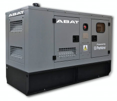 Generator curent electric (grup electrogen) ABAT 20 MP, motorizare Perkins, 20 kVA, diesel, monofazat, automatizare optionala foto