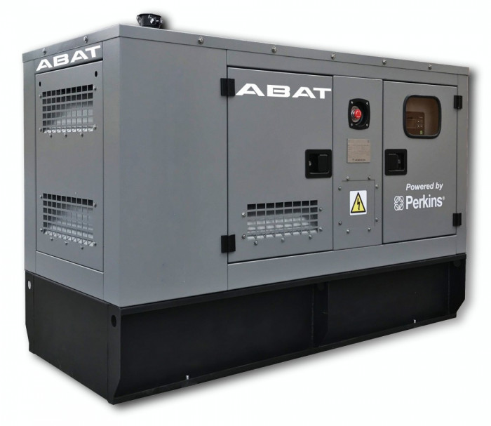 Generator curent electric (grup electrogen) ABAT 20 MP, motorizare Perkins, 20 kVA, diesel, monofazat, automatizare optionala