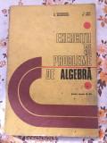 Exercitii si probleme de algebra pentru clasele IX-XII C. Nastasescu