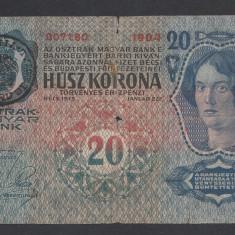 A3041 Romania Austria Hungary Ungaria 20 korona kronen coroane 1913