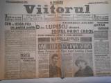 Ziarul viitorul, dum. 20 nov. 1927, 2 pagini,