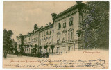 1551 - ALBA-IULIA, block officers, Litho - old postcard - used - 1899