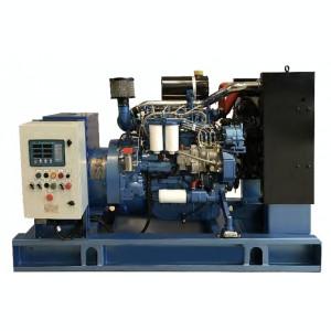 Generator curent electric (grup electrogen), ABAT 22 TBI, motorizare Baudouin, 22 kVA, diesel, trifazat, automatizare