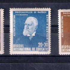 ROMANIA 1942 - TITU MAIORESCU - MNH - LP 147