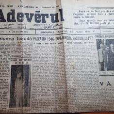 ziarul adevarul 27 iulie 1946-art. scris de tudor arghezi despre nicolae iorga