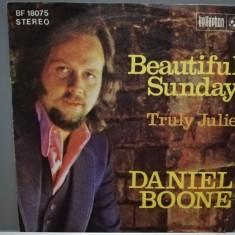 "DANIEL BOONE - BEAUTIFUL SUNDAY  (1976/BELLAPHON/RFG) - disc VINIL Single ""7/"
