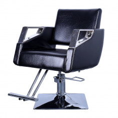 Scaun Frizerie Koln Scaun Salon Coafor Profesional Negru