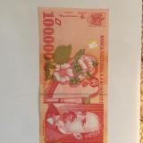 Bacnota,Romania,100 000 lei,1998,necirculata,sau f. putin