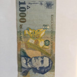 Bacnota,Romania,1 000 lei1998,necirculata,sau circulata foarte putin