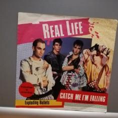"REAL LIFE - CATCH ME I'M FALLING/....(1979/CURB/RFG) - disc VINIL Single ""7/ROSU"