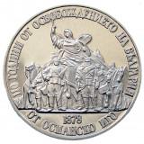BULGARIA-1988: 20 LEVA 500/1000, 110 Ani de la eliberarea de sub ocupatia turca, Europa, Argint