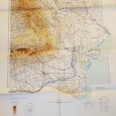 harta romania mare 1937 - bucuresti ,republica moldova,buzau,vaslui,iasi