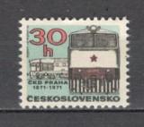 Cehoslovacia.1971 100 ani Fabrica de Masini Praga  PC.215