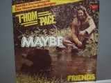"THOM PACE - MAYBE/FRIENDS (1979/RSO/RFG) - disc VINIL Single ""7/NM, capitol records"
