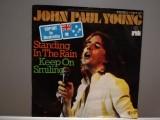 "JOHN PAUL YOUNG - STANDING IN THE RAIN (1977/ARIOLA/RFG) - disc VINIL Single ""7"