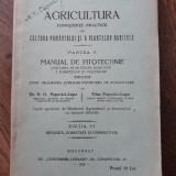 AGRICULTURA,CUNOSTINTE PRACTICE DE CULTURA PAMANTULUI SI A PLANTELOR, 1928