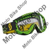 MBS Ochelari cross/enduro Scott MX Recoil XI, verde/negru, Cod Produs: 220844-2917258