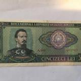 Bacnota,Romania de 50 lei 1966,necirculata,sau circulata foarte putin