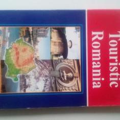 Touristic Romania (cu harta)        (posib. expediere si 5 lei/gratuit) (4+1)