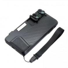 Kit 6 Lentile conversie Iboolo cu carcasa pentru Iphone 7 Plus