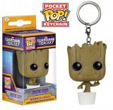 Breloc Figurina Funko Pop! Dancing Groot Guardians Of The Galaxy