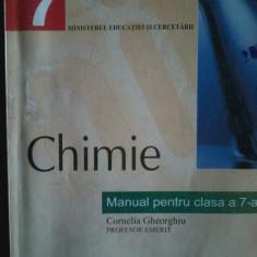 Cornelia Gheorghiu - Chimie. Manual clasa a 7 a, Clasa 7