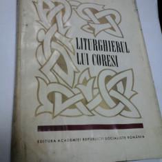 LITURGHIERUL LUI CORESI